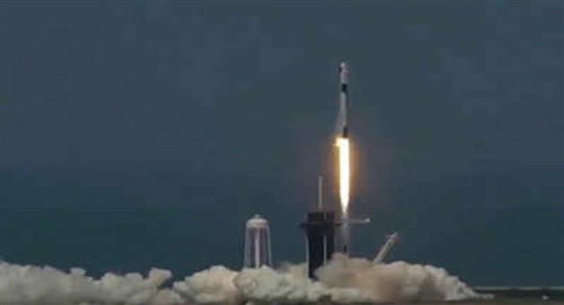 Khabar Odisha:International-Nasa-SpaceX-launch-history-is-made-after-9-years-astronauts-launched-into-orbit-from-us-soil