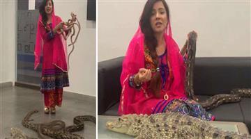 Khabar Odisha:International-National-Odisha-pakistani-pop-singer-rabi-pirzada-who-threatens-to-pm-modi-may-be-jailed
