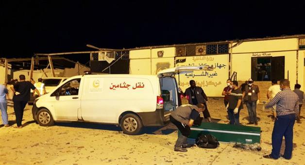 Khabar Odisha:International-Nearly-40-killed-in-strike-on-Libya-migrant-centre