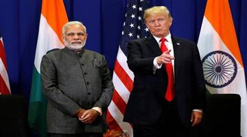 Khabar Odisha:International-Odisha-donald-trump-says-great-honour-ahead-of-his-two-day-visit-to-india-looking-forward-for-it-pm-modi
