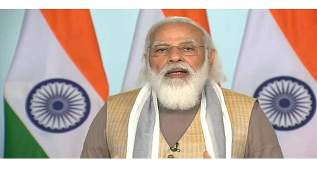 Khabar Odisha:International-PM-Modi-virtually-joined-the-G7-summit-gives-the-mantra-of-one-earth-one-health-to-the-world