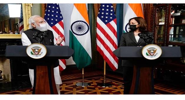 Khabar Odisha:International-PM-Narendra-Modi-meets-America-Vice-President-Kamla-Harris