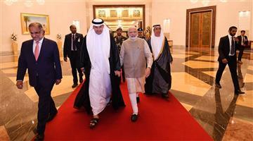 Khabar Odisha:International-Prime-Minister-Narendra-Modi-arrives-at-Abu-Dhabi-to-received-highest-civilian-award