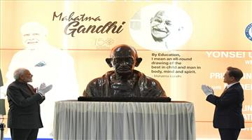 Khabar Odisha:International-South-Korea-Mahatma-Gandhi-was-mankinds-biggest-gift-in-the-20th-century-Narendra-Modi