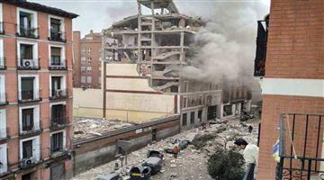Khabar Odisha:International-Spain-At-least-4-dead-and-several-injured-in-Madrid-building-explosion