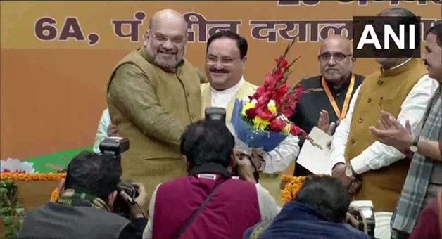 Khabar Odisha:Jagat-Prakash-Nadda-elected-unopposed-as-the-National-President-of-BJP