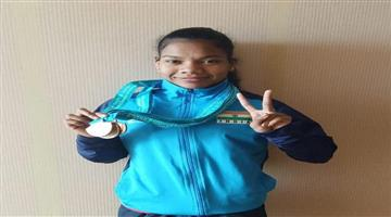Khabar Odisha:Jhilli-Dalabehera-Lifts-Gold-At-Asian-Weightlifting-Championship