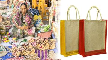 Khabar Odisha:Jute-bag-making-give-you-4-lakhs-income-in-a-year