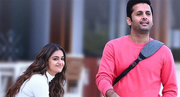 Khabar Odisha:Keerthy-Suresh-and-Nithiins-romantic-drama-Rang-De-streams-on-OTT