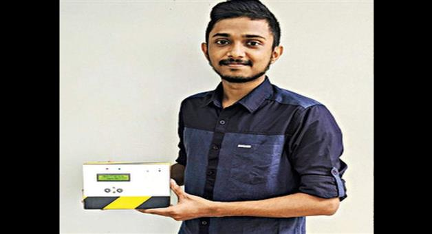 Khabar Odisha:Kerala-engineering-student-develops-thermal-scanner-with-built-in-camera