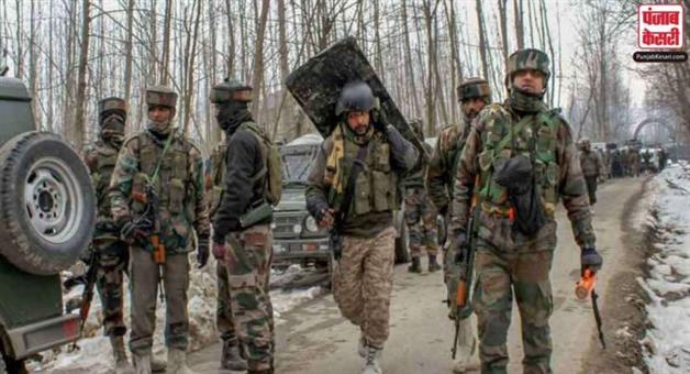 Khabar Odisha:Large-scale-search-operation-launched-by-Indian-security-forces-in-Jammu-and-Kashmirs-Pulwama-district