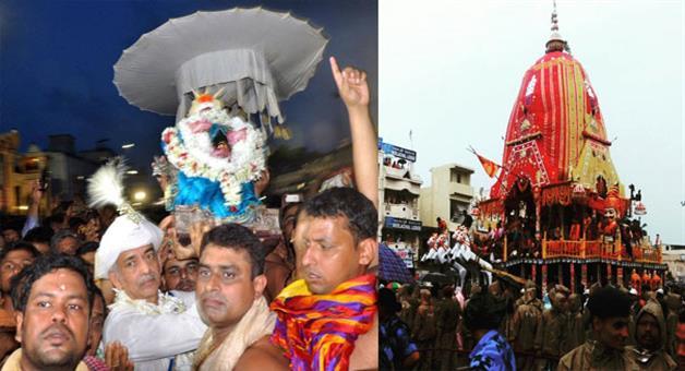 Khabar Odisha:Laxmi-narayan-veta-during-bahuda-yatra-in-puri