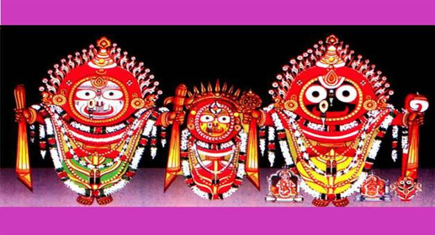 Khabar Odisha:Laxminrusinha-besha-of-Lord-jagganath