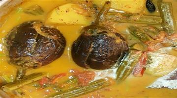 Khabar Odisha:Lifestyle-Odisha-Gota-baingan-besar-Recipe