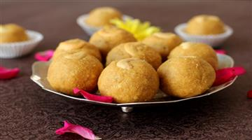 Khabar Odisha:Lifestyle-Odisha-besan-ladoo-recipe