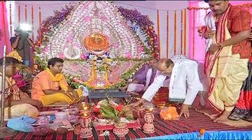 Khabar Odisha:Mahadev-and-Maa-Parvati-to-go-to-Shital-Sasthi-Utsav-wedding-mandapa-in-Sambalpur-today