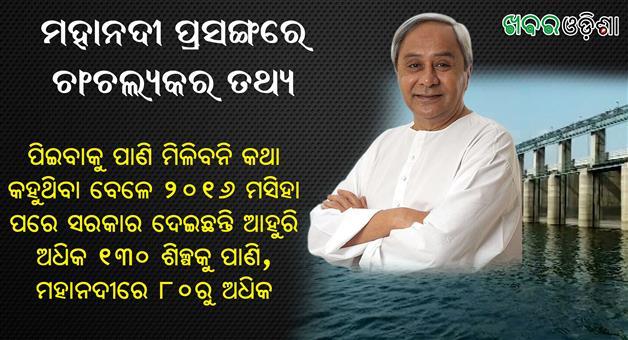 Khabar Odisha:Mahanadi-Water-To-Industry-Mahanadi-Controversy-Odisha-Chhattisgarh
