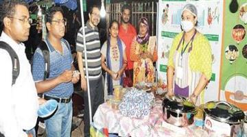 Khabar Odisha:Millet-food-stal-at-BBsr-street