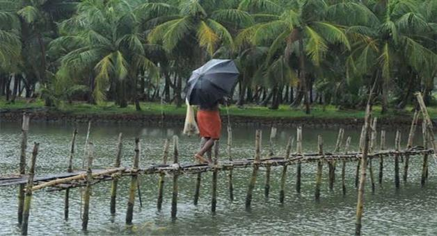Khabar Odisha:Monsoon-reached-Kerala