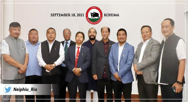Khabar Odisha:Nagaland-is-the-countrys-first-opposition-less-state