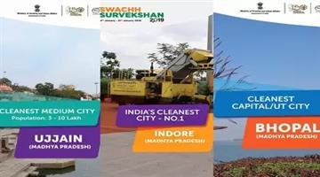 Khabar Odisha:Natioanl-Odisha-Indore-is-the-safest-city-for-the-third-consecutive-year-swachh-survekshan-2019