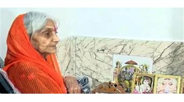 Khabar Odisha:Nation-88-years-old-woman-Urmila-Chaturvedi-has-not-eaten-food-for-28-years-for-Ram-temple-construction