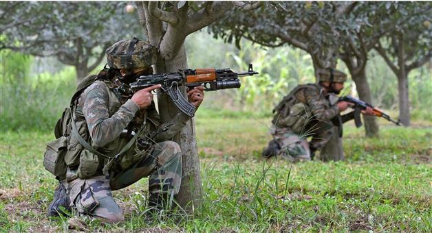 Khabar Odisha:Nation-An-encounter-breaks-out-at-Kashwa-area-of-Shopian-in-Jammu-Kashmir