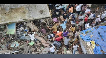 Khabar Odisha:Nation-Death-toll-rises-to-41-in-Bhiwandi-building-collapse-incident-Five-more-people-have-been-rescued