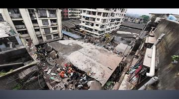 Khabar Odisha:Nation-Death-toll-rises-to-17-in-Bhiwandi-building-collapse-incident-Five-more-people-have-been-rescued