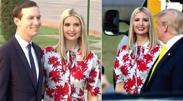 Khabar Odisha:Nation-Donald-Trumps-daughter-Ivanka-trump-repeats-Argentina-trip-dress-for-India-visit