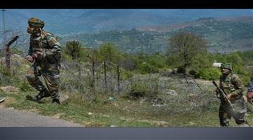Khabar Odisha:Nation-Encounter-started-in-Naugam-of-Jammu-Kashmir-outskirts-of-Srinagar-two-militants-are-trapped