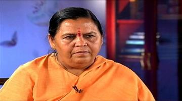 Khabar Odisha:Nation-Former-Union-Minister-Uma-Bharat-tested-corona-positive-stay-Isolation-at-Vande-Mataram