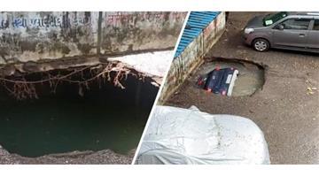 Khabar Odisha:Nation-Ghatkopar-car-video-Mumbai-rains-rescue-done-shocking-visuals
