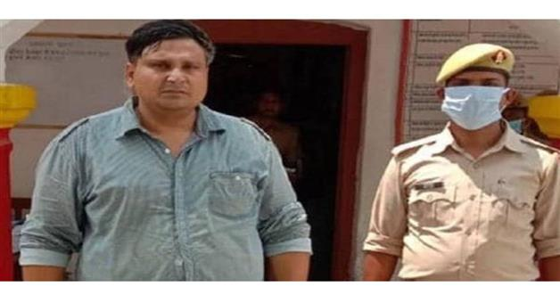 Khabar Odisha:Nation-Ghazipur-of-Uttar-Pradesh-police-arrested-ASI-who-threat-CM-Yogi-Adityanath-facebook-post