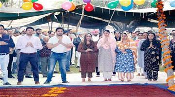 Khabar Odisha:Nation-Honeypreet-participated-in-an-event-celebrating-birth-anniversary-of-Deras-1st-guru-shah-Mastana-in-Sirsa