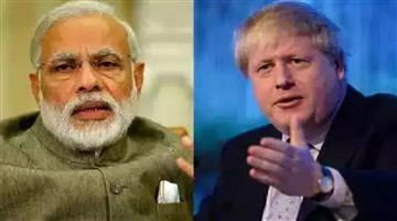 Khabar Odisha:Nation-In-telephone-talks-with-UK-PM-Modi-raises-violence-against-Indian-Diaspora-on-Independence-Day-in-London