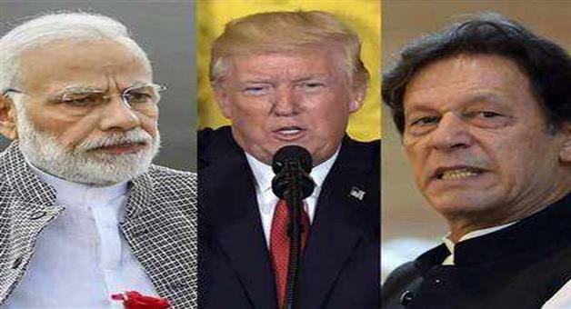 Khabar Odisha:Nation-India-Pakistan-tensions-less-heated-now-than-2-weeks-ago-says-US-President-Donald-Trump