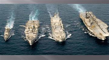 Khabar Odisha:Nation-India-and-Australia-two-days-joint-naval-exercise-to-start-today-in-sea-China-tension-rise