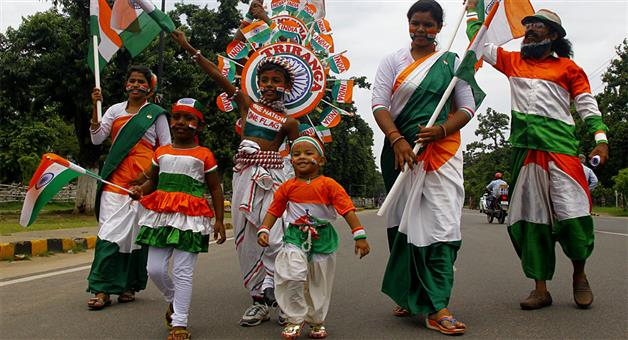 Khabar Odisha:Nation-India-celebrating-73rd-Independence-Day-today-in-an-unique-style