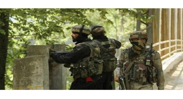 Khabar Odisha:Nation-JK-Anantnag-Poshkreeri-area-encounter-started-security-forces-and-militants