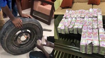 Khabar Odisha:Nation-Karnataka-Cash-over-rupees-4-crore-seized-in-searches-by-income-tax-department-in-Karnataka-Goa