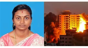 Khabar Odisha:Nation-Kerala-woman-killed-in-ocket-attack-was-talking-to-husband-Israel-promised-to-take-care-of-her-family