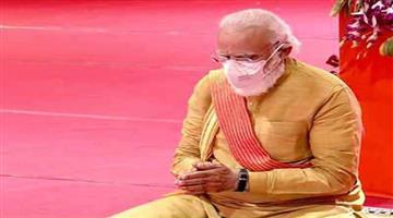 Khabar Odisha:Nation-Narendra-Modi-is-the-first-pm-of-India-to-see-ram-Janambhumi-and-Hanumangarhi