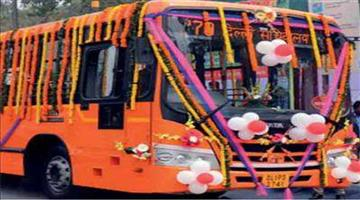 Khabar Odisha:Nation-New-color-cluster-CNG-air-conditioner-buses-will-run-in-Delhi-this-November
