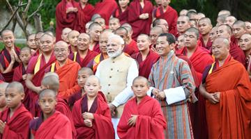 Khabar Odisha:Nation-PM-Narendra-Modi-in-Bhutan-9-MoUs-sign-between-India-and-Bhutan