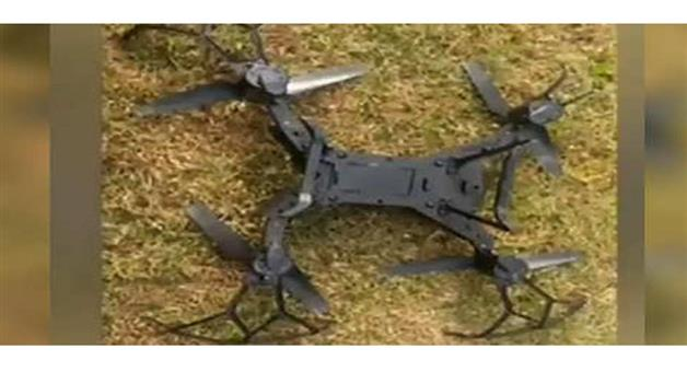Khabar Odisha:Nation-Pakistani-drone-found-on-border-in-Jammu-shot-down-by-Border-Security-Force