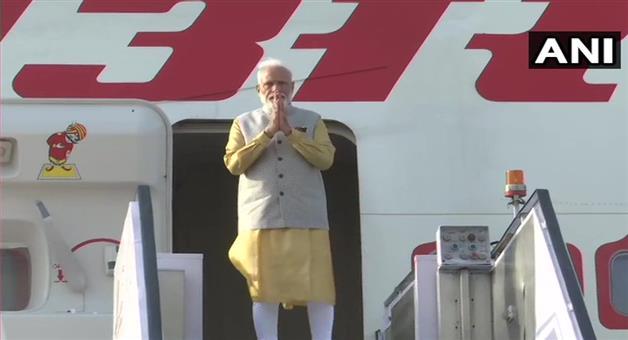 Khabar Odisha:Nation-Prime-Minister-Narendra-Modi-departs-for-Bishkek-in-Kyrgyzstan-where-he-will-attend-SCO-summit