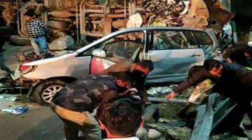 Khabar Odisha:Nation-Seven-persons-died-in-road-accident-in-Yamuna-Express-way