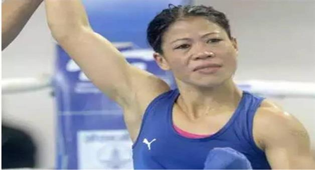 Khabar Odisha:Nation-Six-time-world-champion-MC-Mary-Kom-qualifies-for-Tokyo-Olympics-congratulated-by-sports-minister