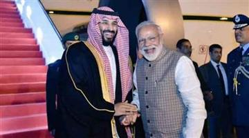 Khabar Odisha:Nation-Soudi-Arab--PM-Modi-and-Saudi-crown-prince-Mohammed-bin-Salman-talk-about-to-open-new-avenues-of-investment